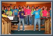 Chapel Choir Tour 2005