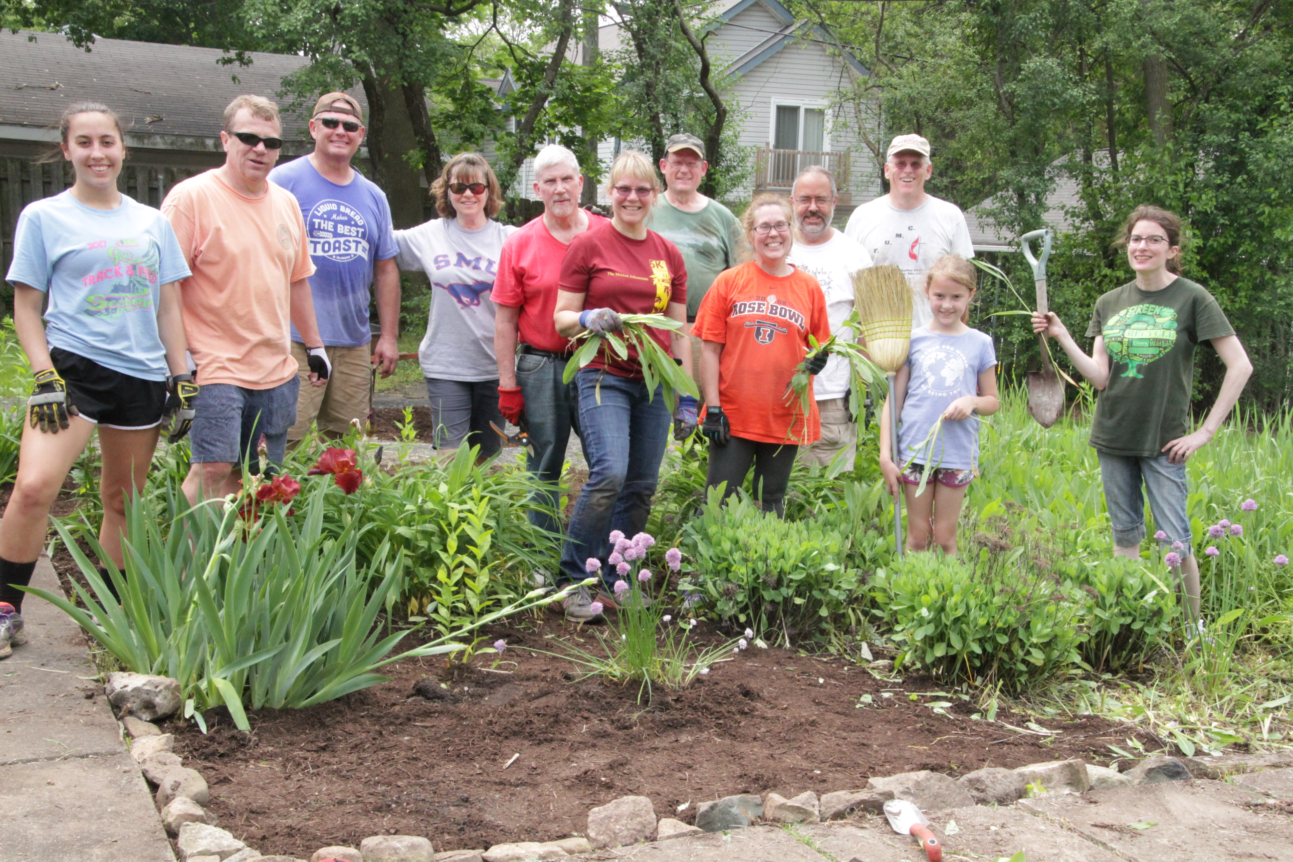 S.O.S. Work Group at Maple Avenue Parsonage