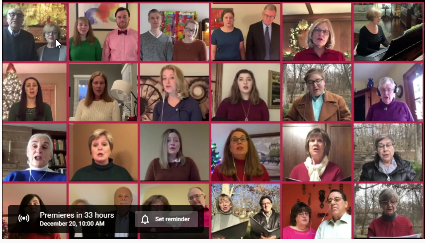 Chancel Choir Online Singing 2020
