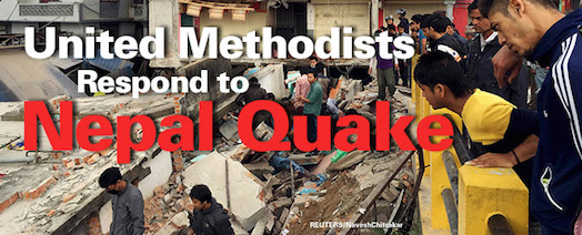 United Methodist respond to Nepal Earthquake